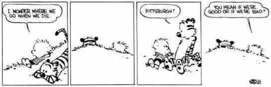 Calvin and Hobbes Pittsburgh